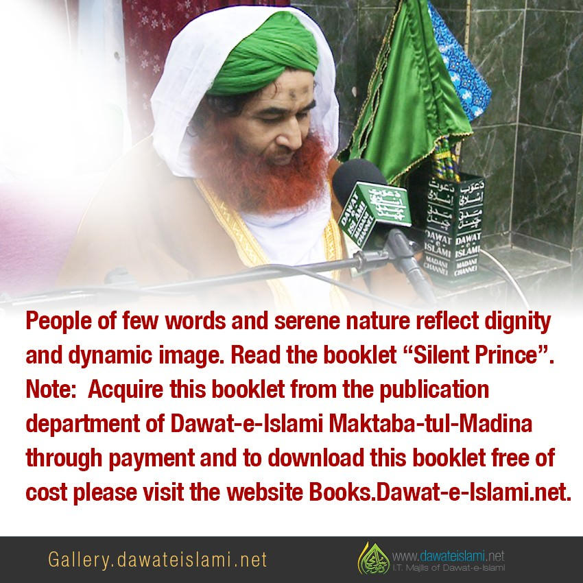 "Read the booklet ""Silent Prince""."