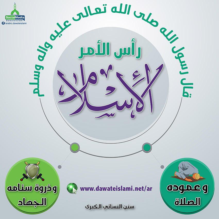 رأس الأمر الإسلام