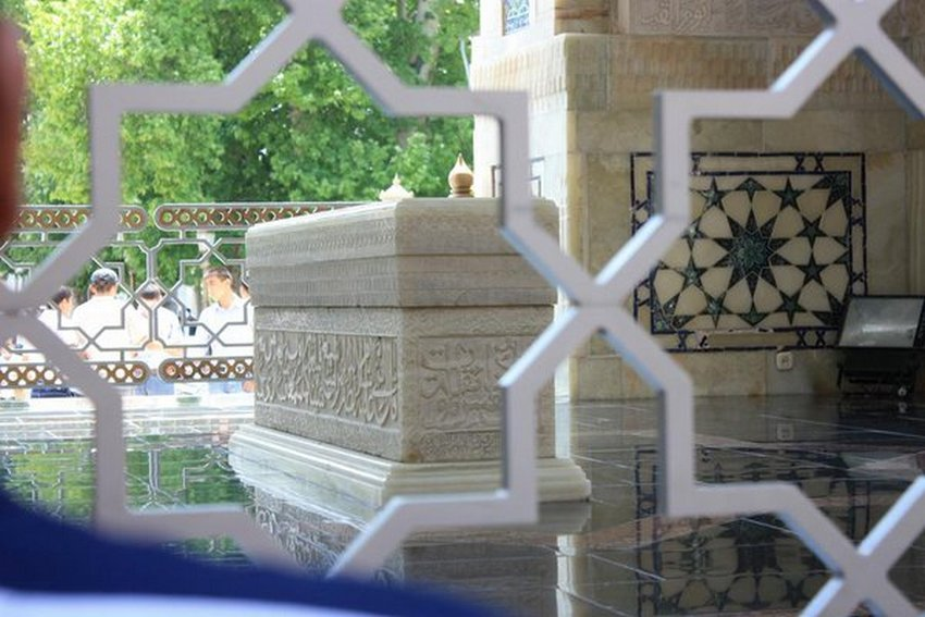 مزار شریف امیرالمؤمنین فی الحدیث حضرتِ سیّدنا محمد بن اسماعیل بخاری علیہ رحمۃ اللہ القَوی ۔ امیج نمبر 5
