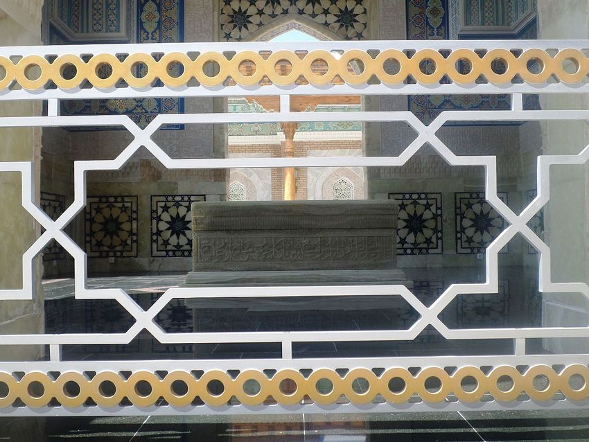 مزار شریف امیرالمؤمنین فی الحدیث حضرتِ سیّدنا محمد بن اسماعیل بخاری علیہ رحمۃ اللہ القَوی ۔ امیج نمبر 9