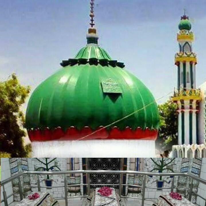 مزار شریف حضرت سیّد شاہ عبدالرّزاق قادری بانسوی ۔ امیج نمبر 1