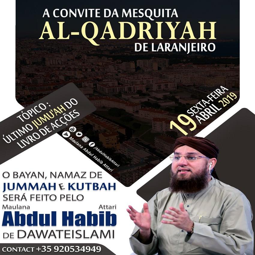 Bayan (A Convite Da Mesquita Al-Qadriyah , Laranjero) 19 April 2019
