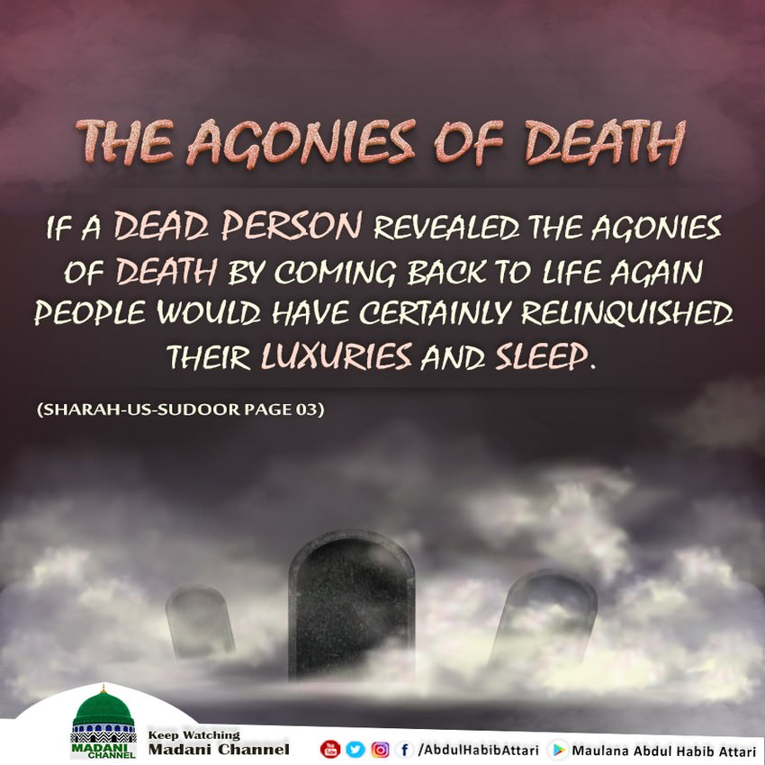 The Agonies Of Death