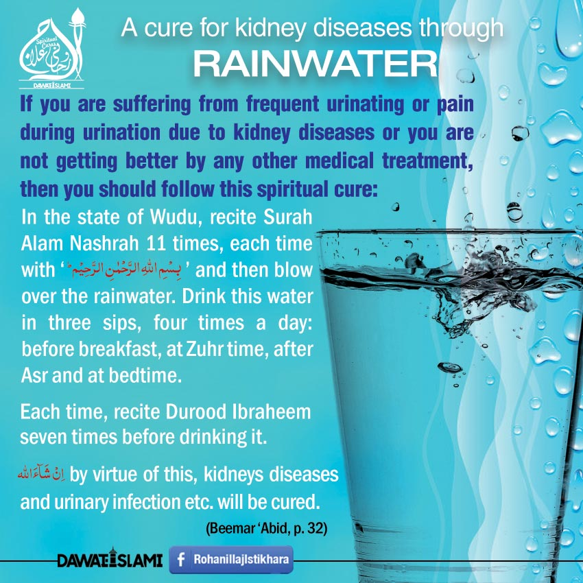 A Cure For Kidney Diseases Through Rainwater