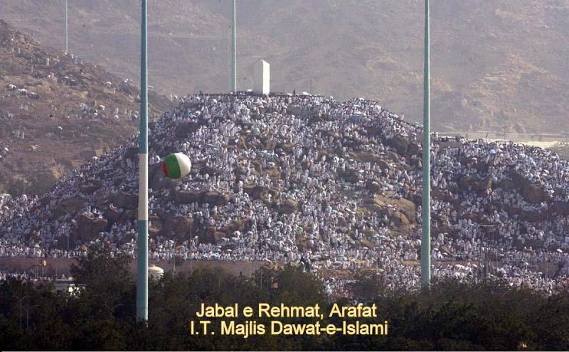 Jabal e Rahmat, Arafaat, Hajj 4