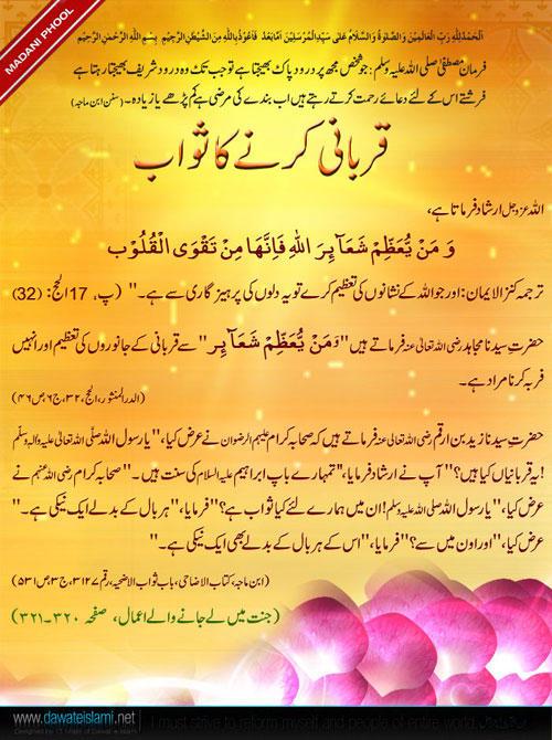 4140 - Qurbani ki Haqiqat Aur Fazilat (قربانی کی حقیقت اور فضیلت)