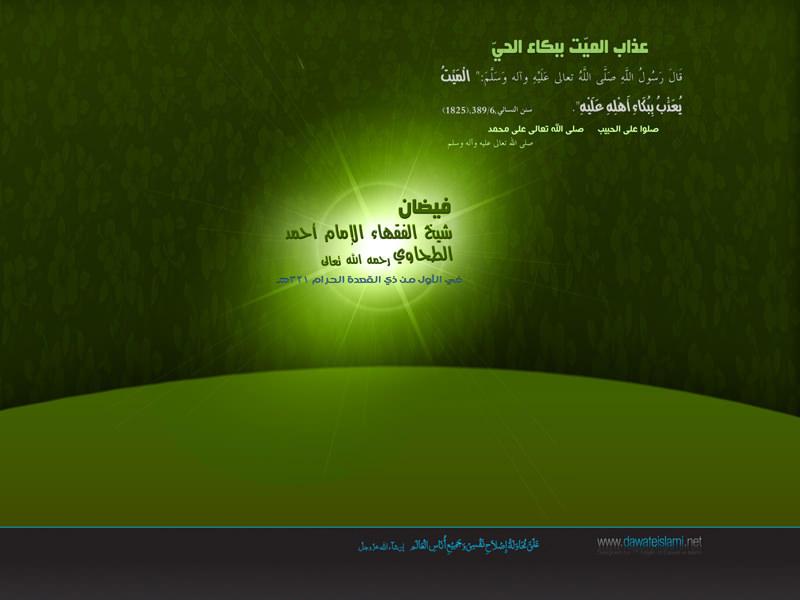 فيضان شيخ الفقهاء الإمام أحمد الطحاوي رحمه الله تعالى