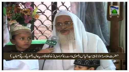 Madani Tasurat - Hazrat Allama Maulana Peer Syed Ilyas Razavi Sahib دامت برکاتہم العالیہ (Bangladesh)