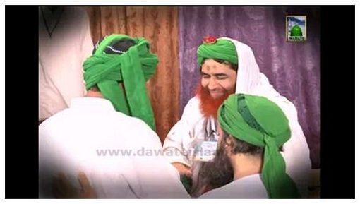 Ameer e Ahlesunnat Aashiqan e Rasool Ko Imame Sharif Pehnatay Hue