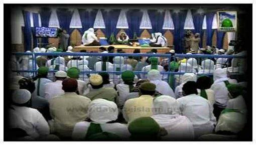 Package - Showbiz Kay Islami Bhai Tauba Karnay Kay Baad Madani Qaflay Main Neki Ki Dawat Main Masroof . Manazir