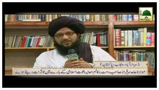 Madani Tassurat - Hazrat Maulana Hamid Sarfaraz Sahib دامت برکاتہم العالیہ (Pakistan)