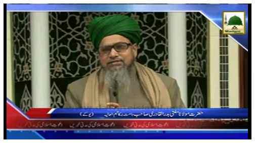 Madani Tassurat - Hazrat Maulana Mufti Badr-ul-Qadiri Sahib دامت برکاتہم العالیہ (Holland)