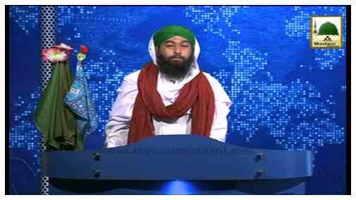 News Clip-08 Sept- Nigran e kabina ki Markaz ul Auliya,Lahore Main Muballigh E Dawateislami Haji Anwar Attari ki Ayadat
