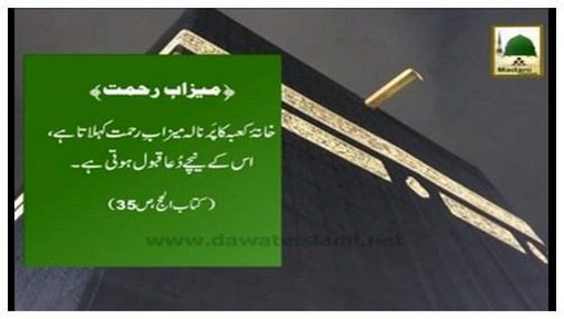 Hajj Madani Phool(32) - Meezab e Rahmat