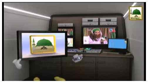 Electronic Muballigh (36) - Madani Channel - Umra ki Istetat Hotay Hoe Hajj Kay Liye Paisay Jama karna
