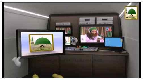 Electronic Muballigh - Madani Channel - Piyaray Aaqa Kay Sar-e-Mubarak Main kitnay Bal Sufaid Thay?