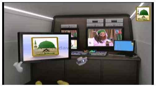 Electronic Muballigh - Madani Channel - Faut Shuda Ki Taraf Say Hajj Ki Niyat Karna Kesa?