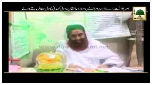Package - Ameer-e-Ahle Sunnat Muzdalifa Main Maujood Aashiqan-e-Rasool Ko Madani Phool Irshad Farmatay Hue
