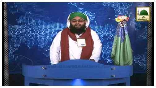 News Clip-13 Mar - Maulana Zaheer-ul-Qadri Sahib Kay Arab Shareef Say Madani Tassurat