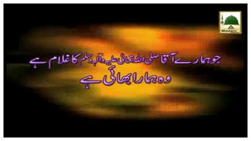 Short Clip - Jo Hamaray Aaqa ﷺ Ka Ghulam Hai Wo Hamara Bhai Hai