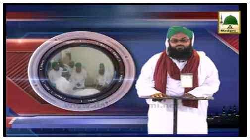 News Clip-14 May - Arkeen-e-Shura Kay Madani Inaamat-o-Madani Qafila Course Bab-ul-Madina Karachi Main Madani Phool