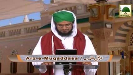 Arz-e-Muqaddasa(Ep:14) - Ulam-e-Ahlesunnat Kay Madinay Main Hazri Kay Andaz