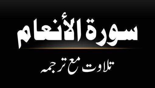 6 - Surah Al-Anaam - Tilawat Ma Tarjama