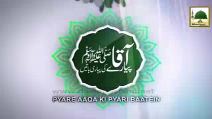 Pyaray Aaqa Ki Pyari Baatain(Ep:13) - Pyaray Aaqa ﷺ Ki Wasiaten