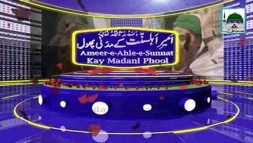 Amee-e-Ahlesunnat Kay Madani Phool