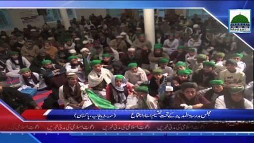 News Clip-20 Jan -  Samma Satta Punjab Main Majlis Madrasa-Tul-Madina Kay Tahat Taqseem-E-Asnad  Ajtima