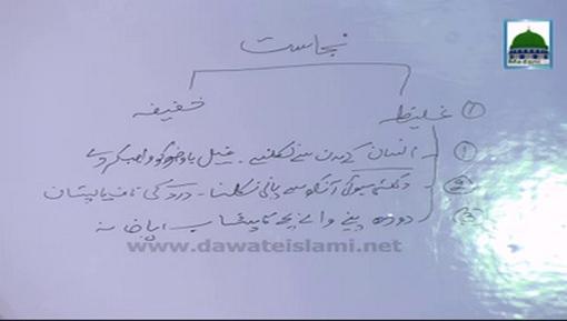 Faizan-e-farz Uloom Course(Ep:04) - Taharat Kay Masail(Najasaton Ka Bayan)