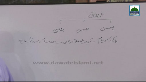 Faizan-E-Farz Uloom Course(Ep:06) - Talaq