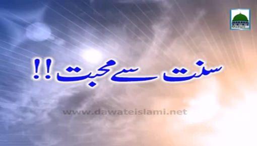 Sunnat Say Muhabbat