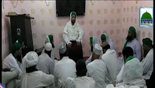 Arab Shareef Main Madani Halqa Rukn e Shura Ki Shirkat
