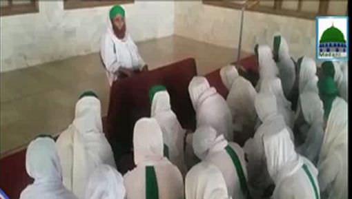 Rukn e Shura Haji Luqman Bapu Aashiqan e Rasool Ki Tarbiyat Farmatay Hoye