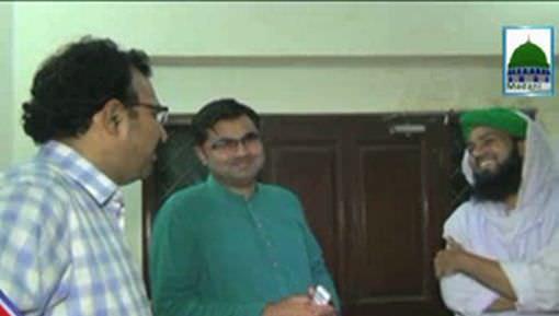 Majlis e Nashr o Ishat Ki Javed Farooqi Say Mulaqat