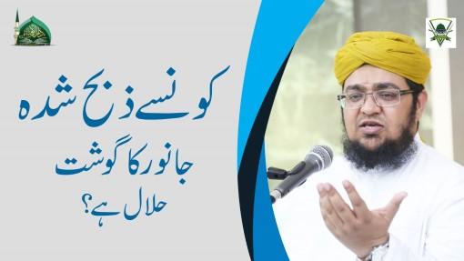Konsa Zibah Shuda Gosht Halal Hai?