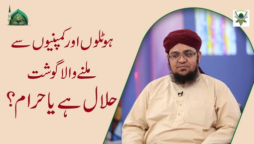 Company Ki Taraf Say Milnay Wala Gosht Halal Hai Ya Haram?