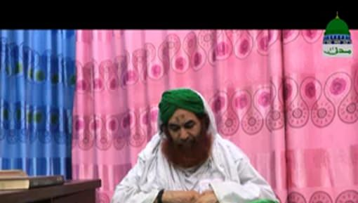 Muhammad Anees Attari Say Unkay Betay Ki Bimari Par Ameer e Ahlesunnat Ki Ayadat