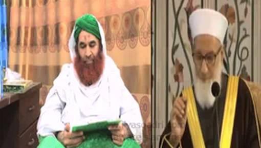 عزاء أمير أهل السنة لأسرة الشيخ رجب ديب في وفاته ودعائه له