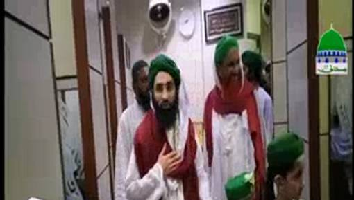 Shahzada e Attari Haji Ubaid Raza Attari Al Madani Ka Aqsa Masjid Karachi Ka Daura