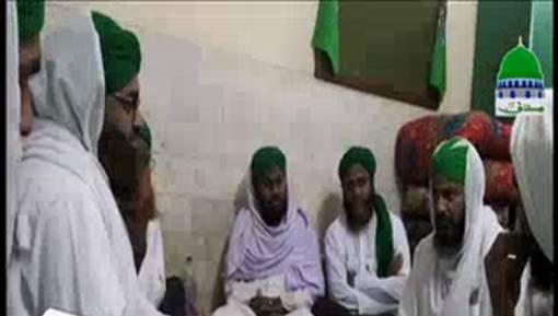 Rukn en Shura Ki Faisalabad Madani Halqay Main Shirkat