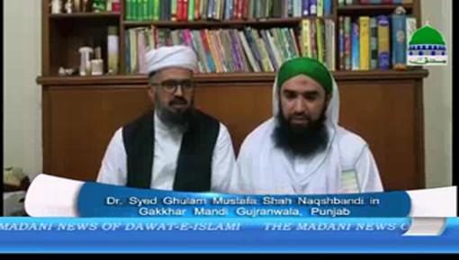 Nigran e Uk Cabina Paying A Visit To Dr Syed Ghulam Mustafa Shah Naqshbandi In Pakistan