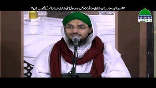 Hazrat Ameer e Muaviya ALLAH Aur Us Kay Rasool Kay Mahboob Hain