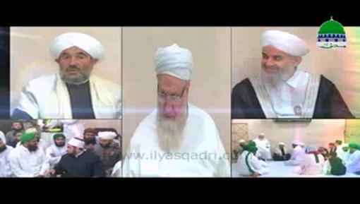 لقاء علماء العرب مع سماحة الشيخ محمد إلياس العطار القادري