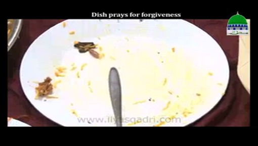 Dish Prays For Forgiveness