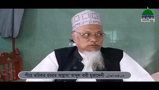 Hazrat Maulana Abdul Bari Mujadidi Sahib