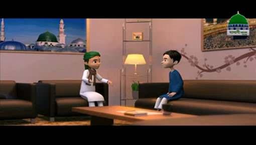 Animated Madani Khaka - Haal Pochnay Par Kia Kahain?