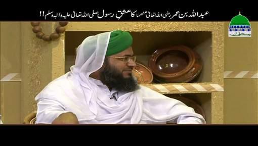 Hazrat Abdullah Bin Umar رضی اللہ تعالٰی عنھما Ka Ishq e Rasool