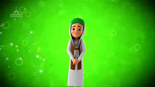 Animated Madani Khaka - Eid Mubarak